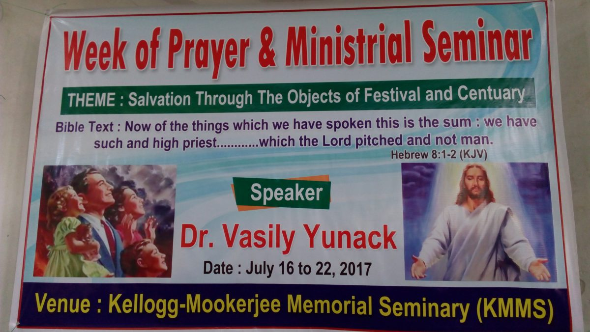 Training seminar for missionaries at KMMS